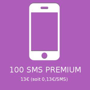 100 SMS PREMIUM