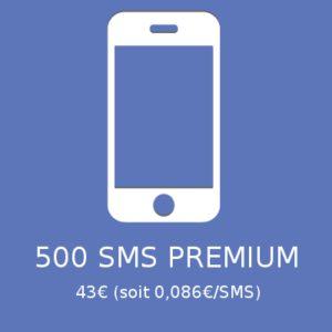 500 SMS PREMIUM