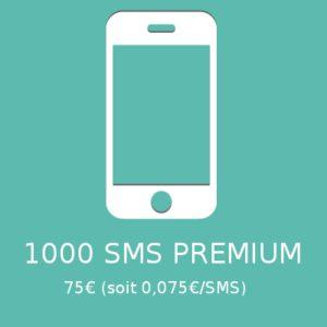 1000 SMS PREMIUM