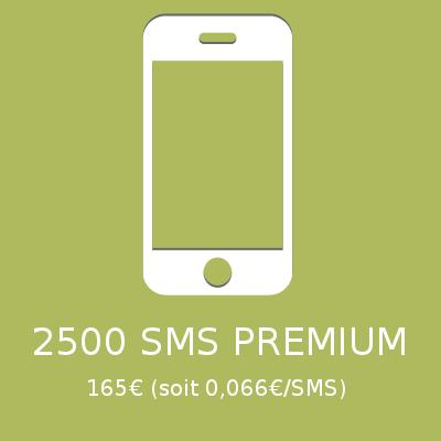 2500 SMS PREMIUM