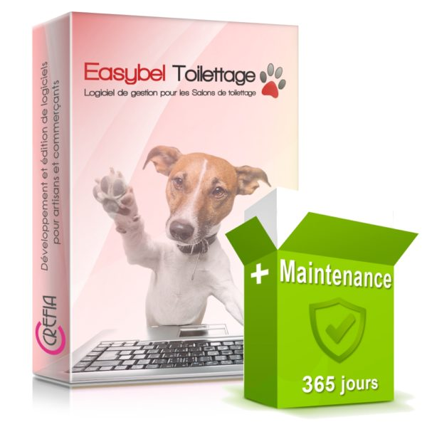 Pack logiciel Easybel Toilettage+ Maintenance