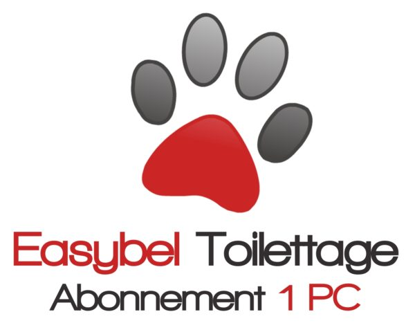 Easybel Toilettage Abonnement 1 PC