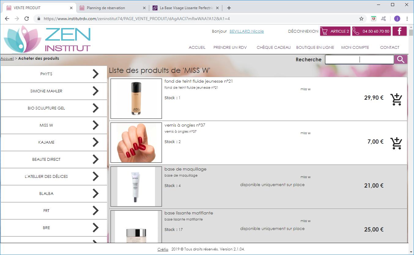 BoutiqueEnLigne_Produits